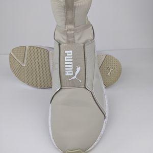 PUMA Fierce Bleached High Top Sneaker